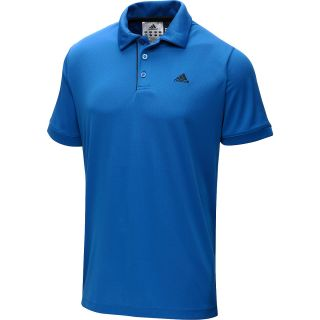 adidas Mens Galaxy Short Sleeve Tennis Polo Shirt   Size: Small, Blue
