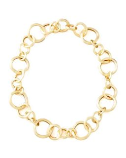 Jaipur Gold Link Necklace   Marco Bicego   Gold