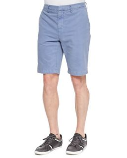 Mens Cotton Chino Shorts, Herring   Vince   Herring (30)