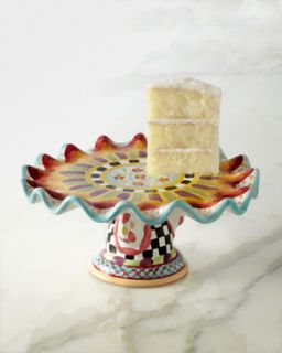 Roost Cake Stand   MacKenzie Childs