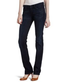 7 For All Mankind Women's Straight Leg Jean in Los Angeles Dark, Los Angeles Dark, 32 Seven Jeans Straight Leg Womens