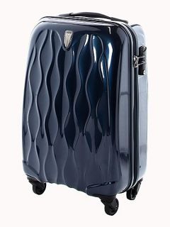 Antler Liquis Navy 56cm 4 Wheel Case