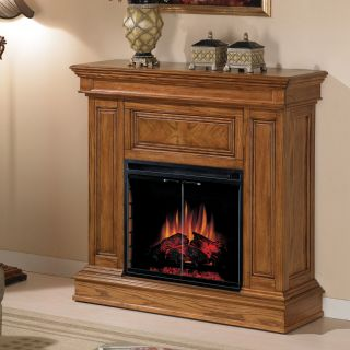 Classic Flame Phoenix Convertible Electric Fireplace   Oak