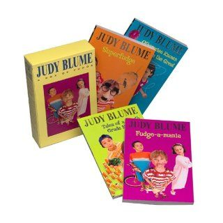 Judy Blume Boxed Set Fudge a Mania; Otherwise Known as Sheila; Tales of a Fourth Grade Nothing; Superfudge Judy Blume 9780440799207 Books