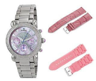 JBW Women's JB 6210 F.2bandset Victory Two Band Set Pink Stainless Steel Diamond Watch at  Women's Watch store.