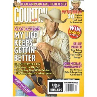 Alan Jackson: My Life Keeps Getting Better / Blake & Miranda Take the Next Step / Toby Keith: My Big Break (20 Twists of Fate That Led to Stardom) / Kellie Pickler: She Takes Charge! (Country Weekly, Volume 15, Number 21, October 20, 2008): Larry Holde