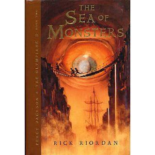 The Sea of Monsters (Percy Jackson and the Olympians, Book 2): Rick Riordan: 9780786856862:  Children's Books
