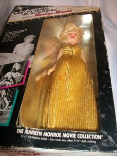 "Marilyn Monroe   ""There's No business Like Show Business"" doll   NIB   from the twentiteh Century Fox Movie Collection   Circa 1982: Toys & Games"