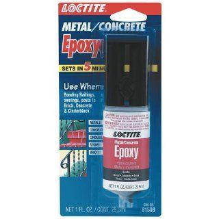 Henkel Corporation 1405605 Plastic Syringe Epoxy Metal and Concrete Gel, 0.85 Ounce: Home Improvement