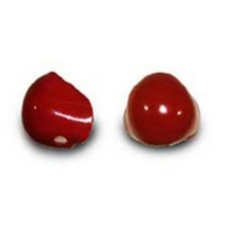 ProKnows Clown Noses   Style E 1   Gloss Red: Costume Accessories: Clothing