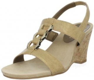 AK Anne Klein Women's Custom Wedge Sandal Shoes