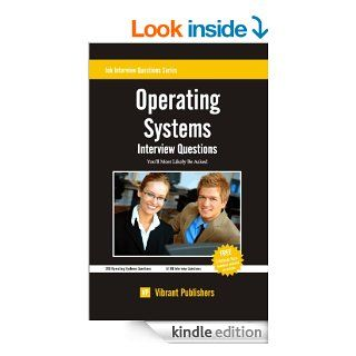 Operating Systems Interview Questions You'll Most Likely Be Asked eBook Vibrant Publishers Kindle Store