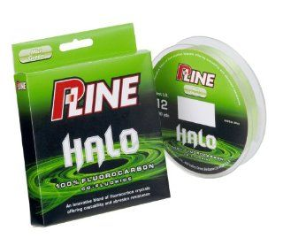 P Line Halo Fluorocarbon Mist Green Fishing Line 200 YD (Filler spool)  Sports & Outdoors