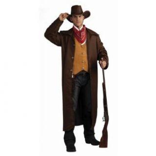 Forum Novelties Inc Men's Gun Fighter Costume Brown/Orange One Size Adult Sized Costumes Clothing