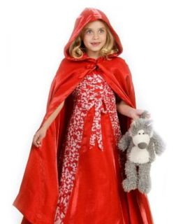 Princess Paradise Kids Little Red Riding Hood Outfit Girls Halloween Costume Large: Childrens Costumes: Clothing