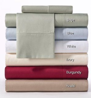 400 TC Thread Count Sateen Hemstitch Sheet Set   Queen Khaki   by Cotton Craft   Super Premium 100% Pure Combed Cotton   Contains: Flat sheet, Fitted sheet, Pair of pillowcases   Ultra Soft & Smooth as Silk   Lustrous Colors   An outstanding value   ma