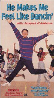 He Makes Me Feel Like Dancin [VHS]: Jacques d'Amboise, Janet Eilber, Judy Collins, Peter Gennaro, Christopher d'Amboise, Chita Rivera, Todd Fredericks, Joshua Feinman, Kevin Kline, Carolyn d'Amboise, Emile Ardolino: Movies & TV