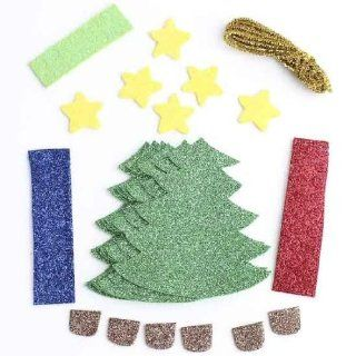 Decorate Yor Own Christmas Tree Foamie Craft Kits Makes 24: Pet Supplies