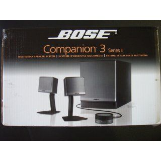 Bose Companion 3 Series II multimedia speaker system (Graphite/Silver): Electronics