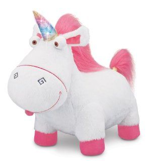 Despicable Me Agnes' Fluffy Unicorn Plush: Toys & Games