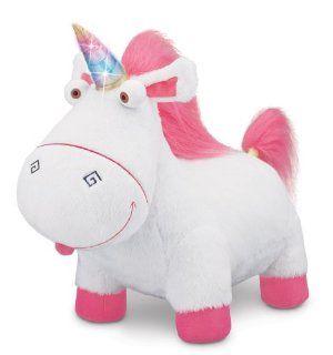 Despicable Me Agnes' Fluffy Unicorn Plush: Toys & Games