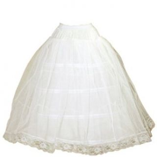 Erin Ladies 4 Hoop Skirt With Crinoline at  Women�s Clothing store: