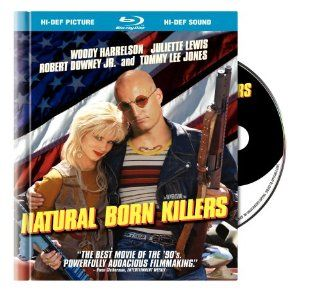 Natural Born Killers (R Rated Version) (Blu ray Book Packaging): Woody Harrelson, Juliette Lewis, Tom Sizemore, Rodney Dangerfield, Everett Quinton, Jared Harris, Pruitt Taylor Vince, Edie McClurg, Russell Means, Lanny Flaherty, O Lan Jones, Robert Downey