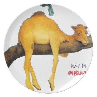 Hump Day Camel .. Overblown Plates