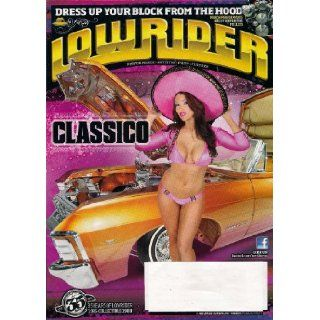 Lowrider Magazine May 2012 + 67 Impala Convertible + 63 Impala Convertible + 63 Buick + 64 Impala SS + 77 Ford LTD + 96 Cadillac + 39 Pontiac Chieftain + alot more: Books