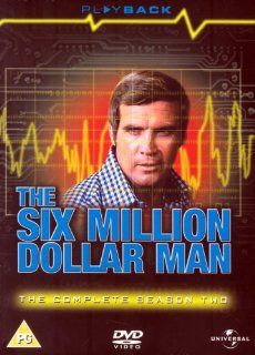 The Six Million Dollar Man: Season Two [Regions 2 & 4]: Lee Majors, Richard Anderson, Carol Lawrence, Felice Orlandi, George Gaynes, Stewart Moss, Fred Beir, Thomas Bellin, Sid Haig, Irene Tedrow, Richard Donner, Richard Irving, CategoryArthouse, Categ