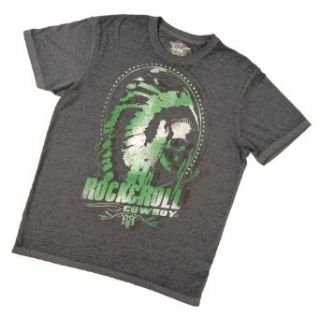 Rock & Roll Cowboy Men's And Graphic T Shirt Clothing