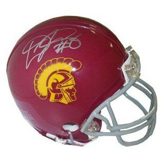 Dwayne Jarrett signed USC Trojans Replica Mini Helmet at 's Sports Collectibles Store
