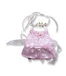"Pink Fairy Princess Outfit Clothing Fits Most 8"" 10"" Most Webkinz, Shining Star and 8"" 10"" Make Your Own Stuffed Animals and Build A Bear: Toys & Games"