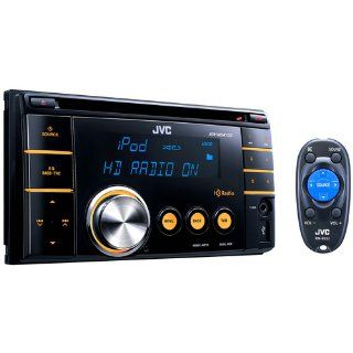 JVC KWHDR720 2 DIN HD Radio USB CD Receiver : Vehicle Receivers : Car Electronics