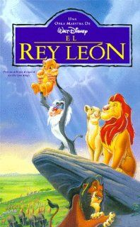 El Rey Leon (The Lion King) (Spanish) [VHS]: Matthew Broderick, Jeremy Irons, James Earl Jones, Whoopi Goldberg, Jonathan Taylor Thomas, Moira Kelly, Niketa Calame, Ernie Sabella, Nathan Lane, Robert Guillaume, Rowan Atkinson, Madge Sinclair, Rob Minkoff,