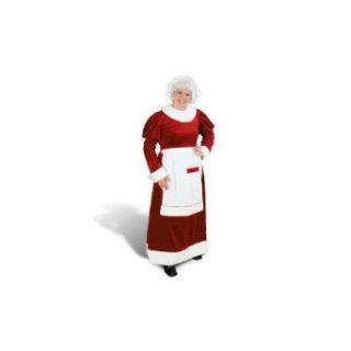 Mrs. Santa Claus Dress Costume Size 5 8 Small/Medium (S/M) Clothing