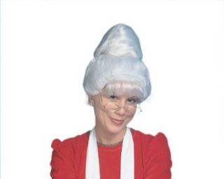 Mrs. Santa Claus Wig (white) Adult Costume Accessory Clothing