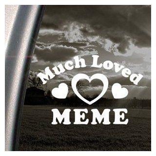 Much Loved Meme Decal Car Truck Bumper Window Sticker