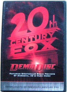20th Century Fox Demo Disc ~ DareDevil, X2 & Much More [DVD] Movies & TV