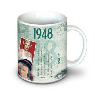 1948 Birthday Gift   1948 Coffee Mug Kitchen & Dining