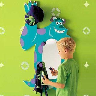 ''Monsters, Inc.'' Sulley Dress Myself Wall Mirror RARE  Other Products