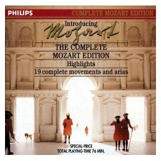 Introducing Mozart (Th Complete Mozart Edition: Highlights  9 complete movements and arias): Music