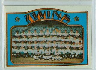 1972 Topps Baseball 156 Twins Team Near Mint Plus at 's Sports Collectibles Store