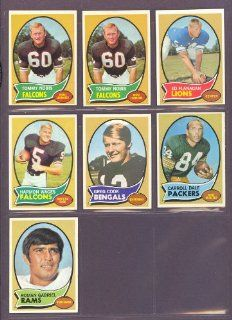1970 Topps #5 Harmon Wages Falcons (Near Mint) at 's Sports Collectibles Store
