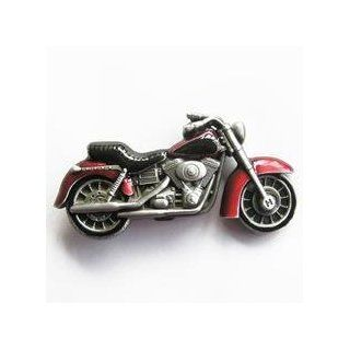 Red Motorcycle Belt Buckle Sports & Outdoors