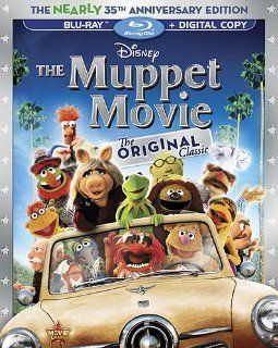 The Muppet Movie: The Nearly 35th Anniversary Edition (Blu ray + Digital Copy): Jim Henson, Frank Oz, Jerry Nelson, Richard Hunt, Dave Goelz, Charles Durning, Austin Pendleton, Scott Walker, James Frawley, Jack Burns, Jerry Juhl: Movies & TV