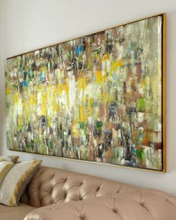 Slickers Abstract Painting   John Richard Collection