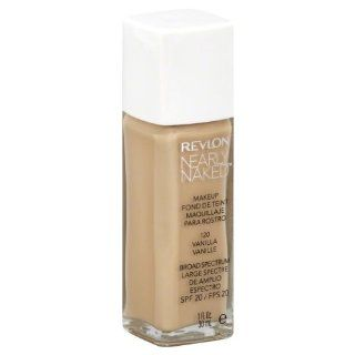 Revlon Nearly Naked Makeup, Vanilla, 1 oz: Health & Personal Care