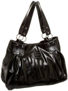 necessary objects Daniela Double Shoulder Bag,Black,one size: Clothing