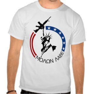 Colt M4A2   MOLON LABE T Shirts